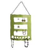 Large jewelry holder in green.